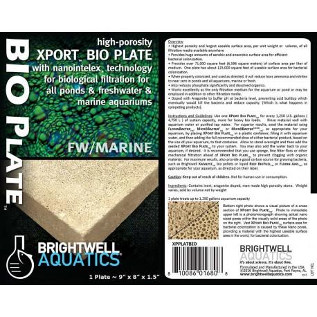 Brightwell Aquatics Xport BIO - Plate