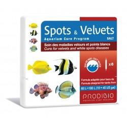 Prodibio Spots & Velvets Saltwater 6 vials