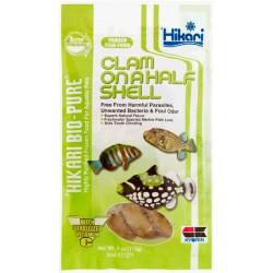 Hikari Congelado Clam Onahalf Shell